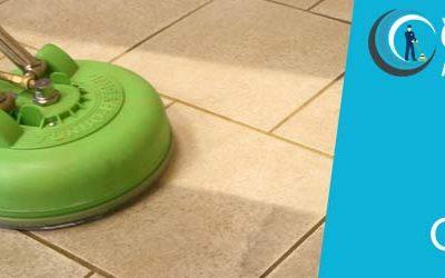 Cleaning Non-Slippery Tile Floors
