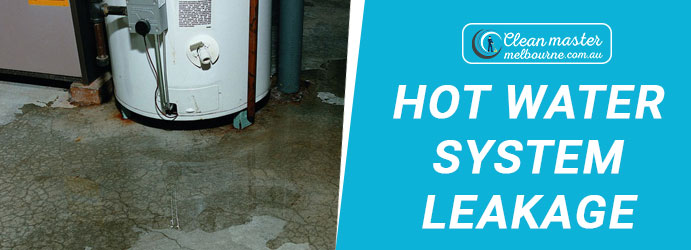 Hot Water System Leakage Red Hill South